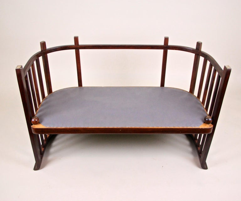 Bentwood Seating Set by Josef Hoffmann J&J Kohn, Austria, circa 1903 For Sale 13