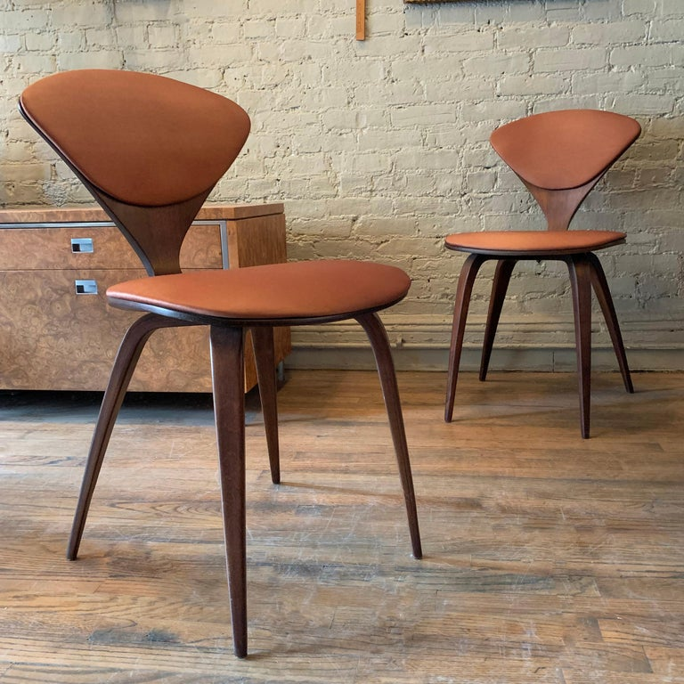 American Bentwood Side Chairs by Norman Cherner for Plycraft For Sale