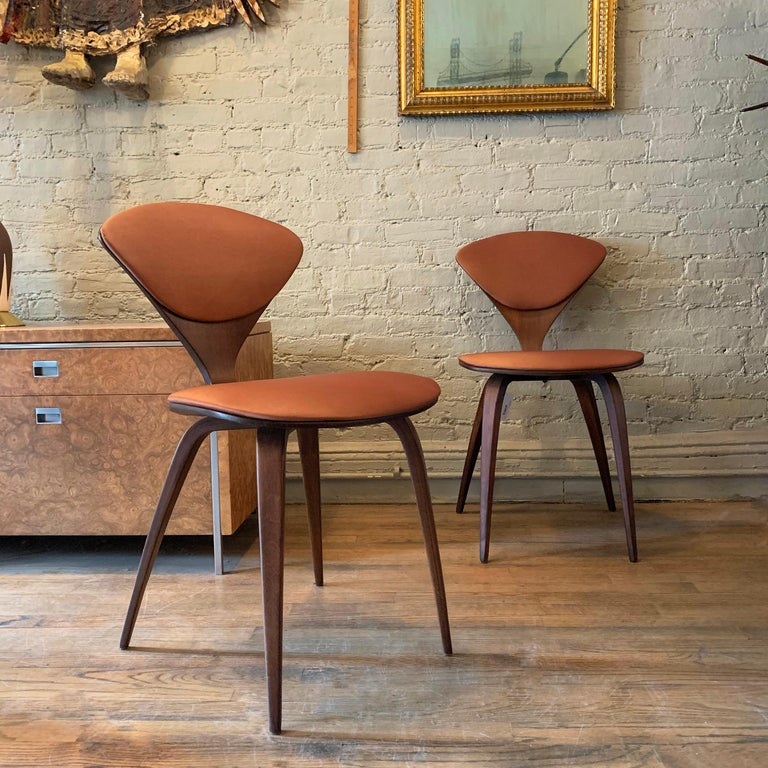 Bentwood Side Chairs by Norman Cherner for Plycraft In Good Condition For Sale In Brooklyn, NY