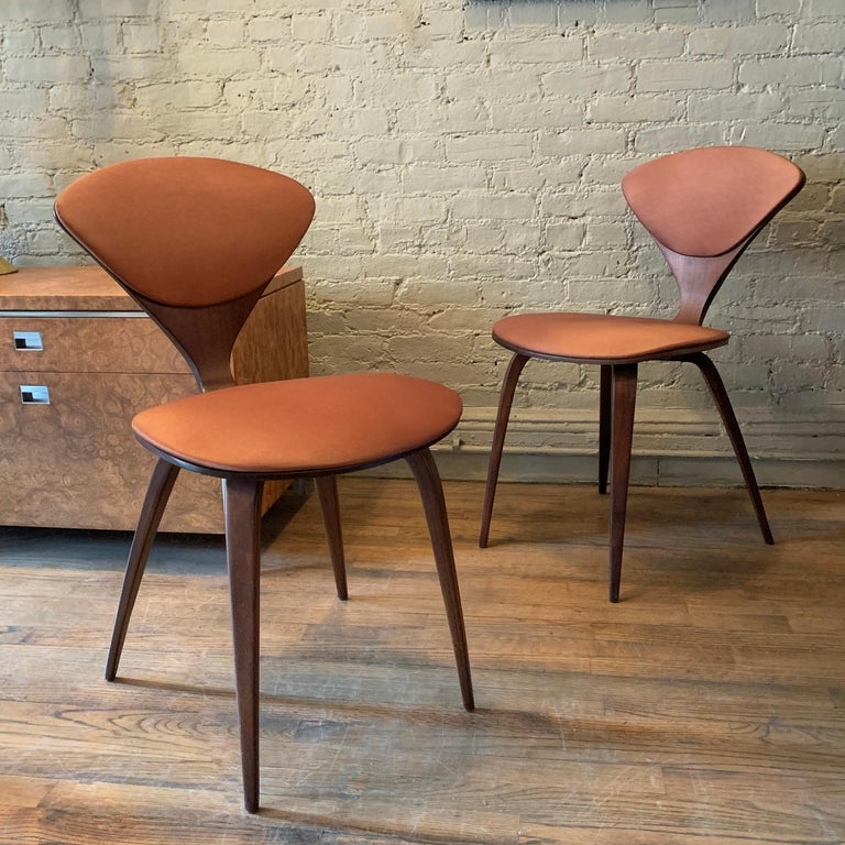 20th Century Bentwood Side Chairs by Norman Cherner for Plycraft For Sale