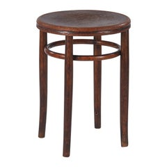 Bentwood Stool by Fischel, Austria, Early 1900s