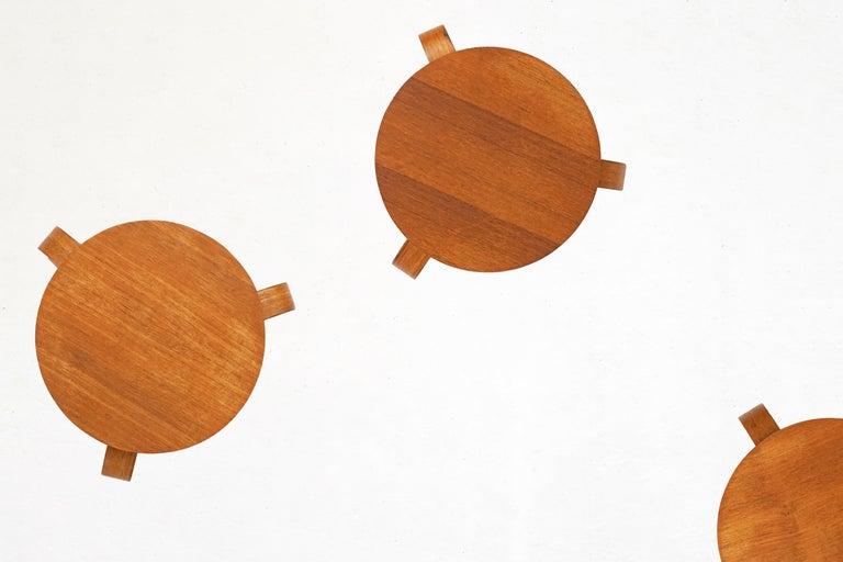 Bentwood Stool in the Style of Avlar Aalto for Artek For Sale 2