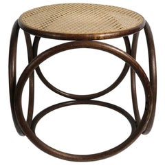 Bentwood Stool Ottoman by Thonet