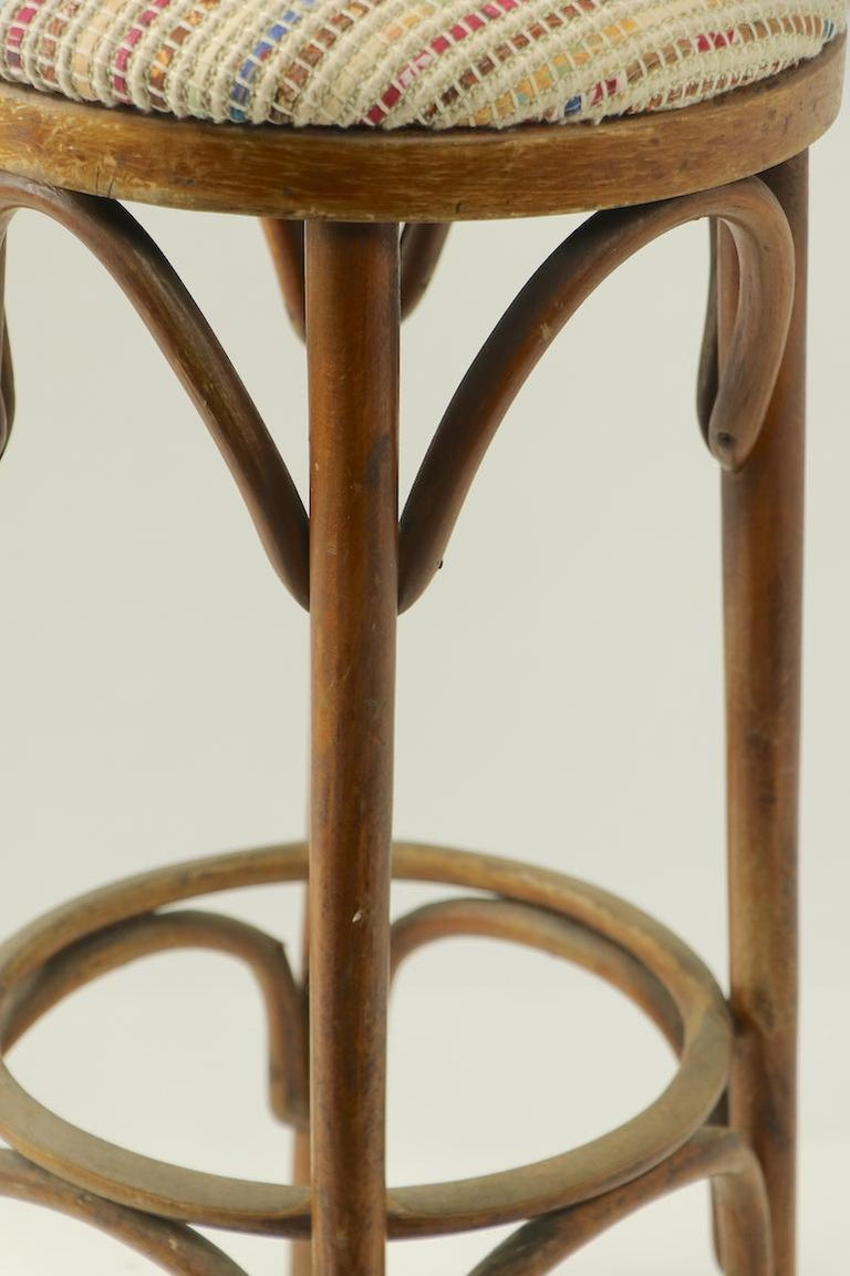 Bentwood Stools Attributed to Thonet 3 Available For Sale 4