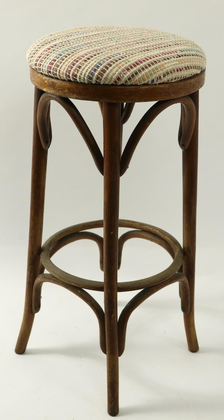 Bentwood Stools Attributed to Thonet 3 Available For Sale 5