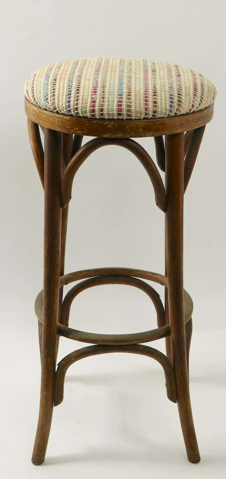Austrian Bentwood Stools Attributed to Thonet 3 Available For Sale