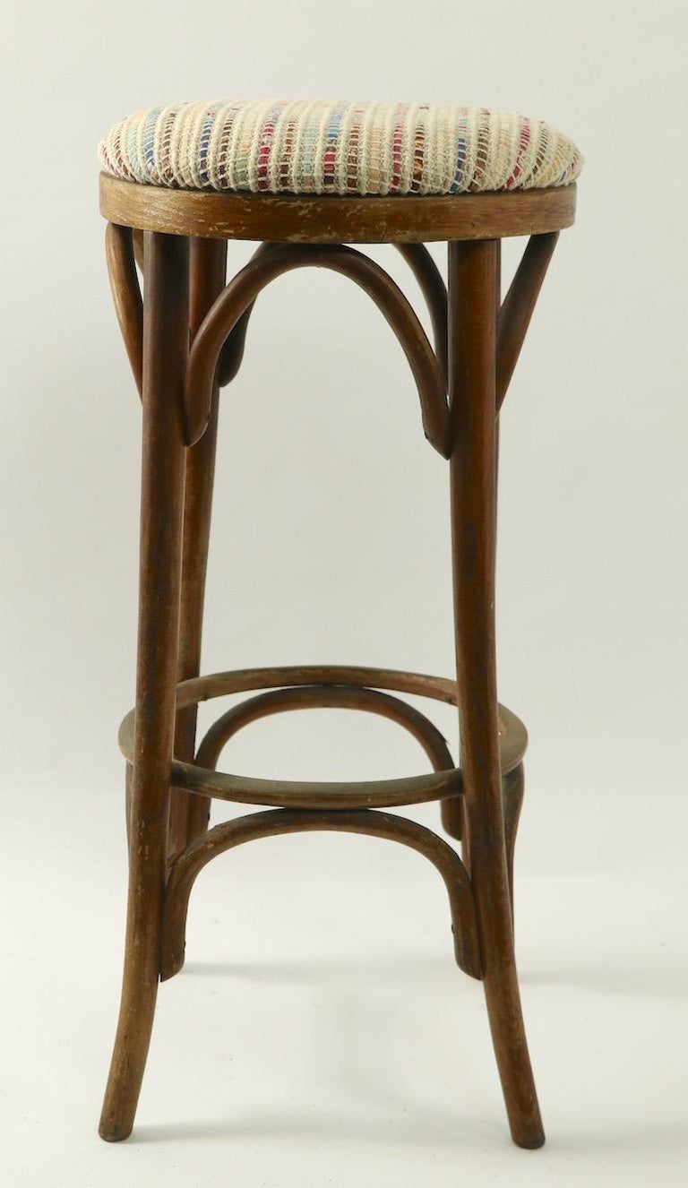 20th Century Bentwood Stools Attributed to Thonet 3 Available For Sale