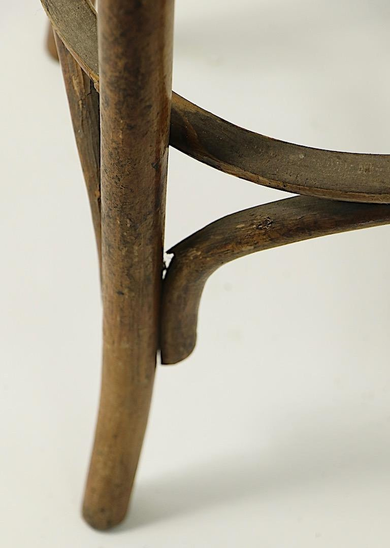 Bentwood Stools Attributed to Thonet 3 Available For Sale 2