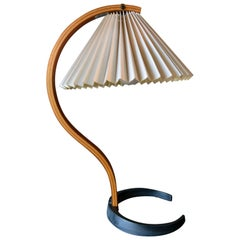 Bentwood Table Lamp by Caprani Light of Denmark, circa 1971