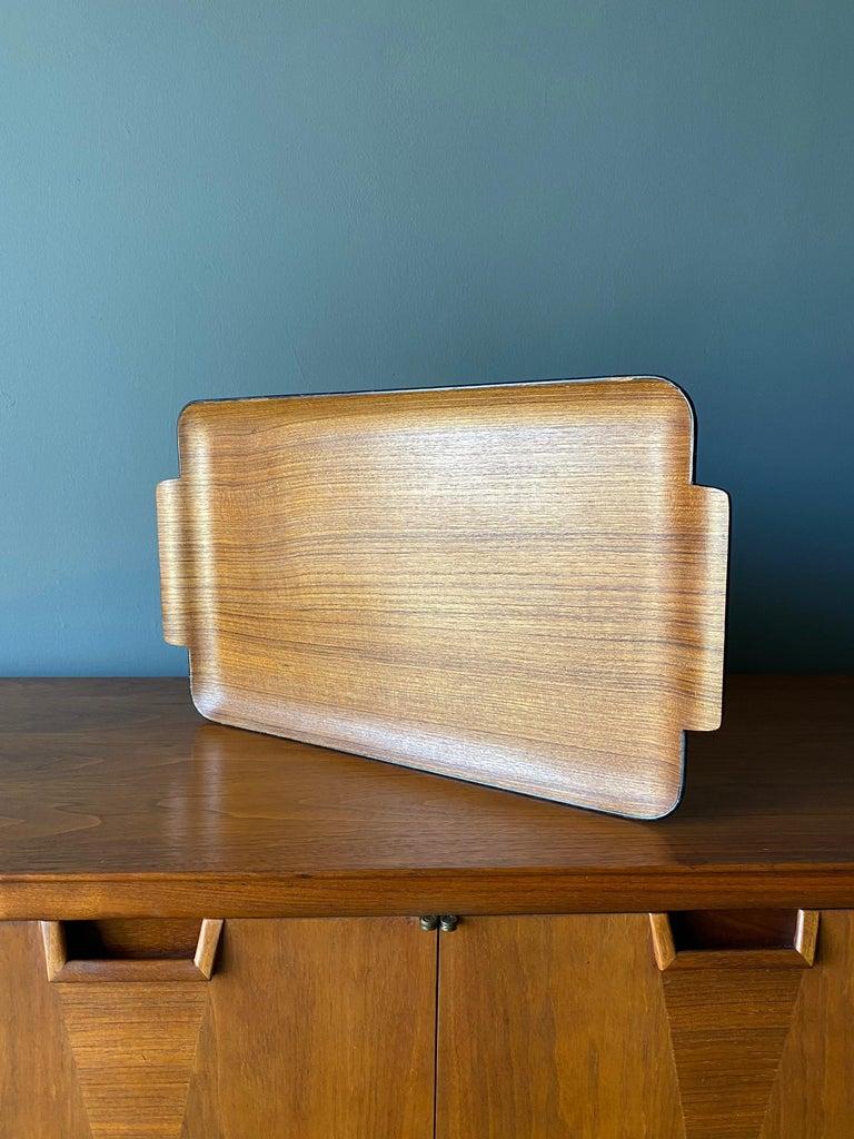 Bentwood Teak Tray circa, 1960 For Sale 4