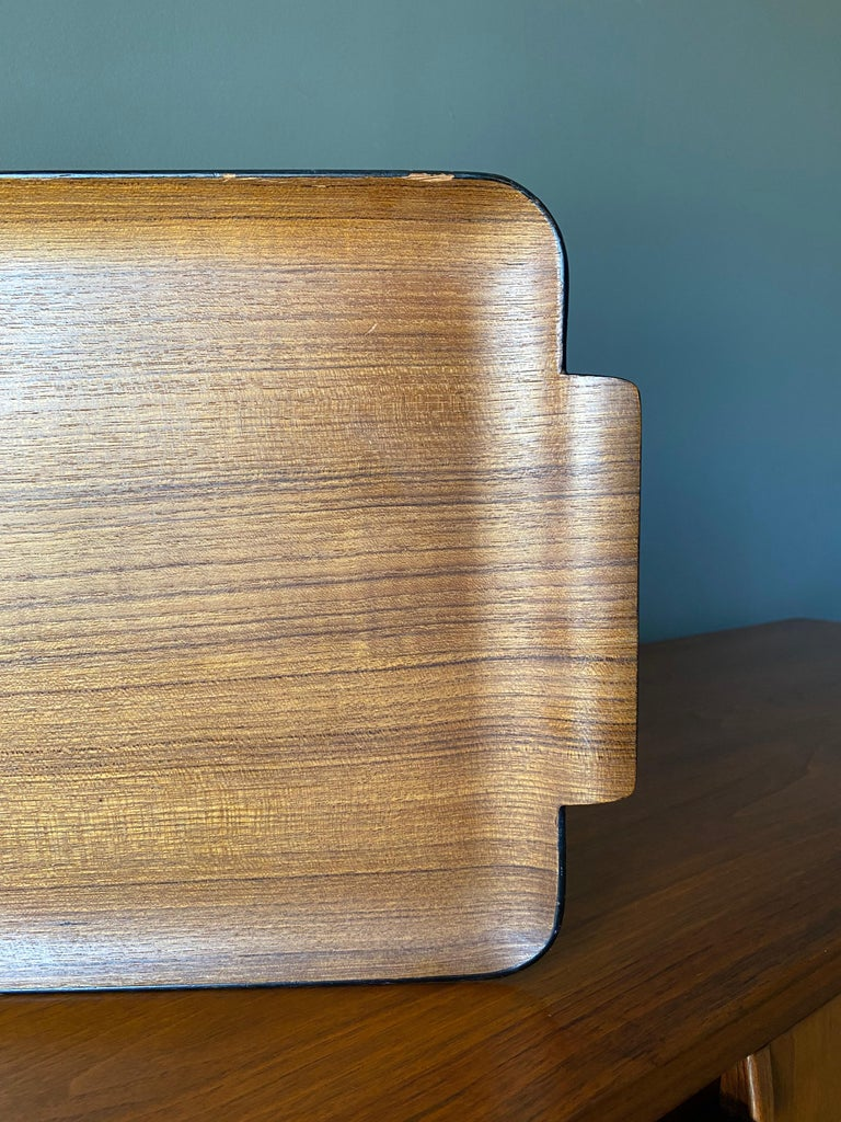 Bentwood Teak Tray circa, 1960 For Sale 2