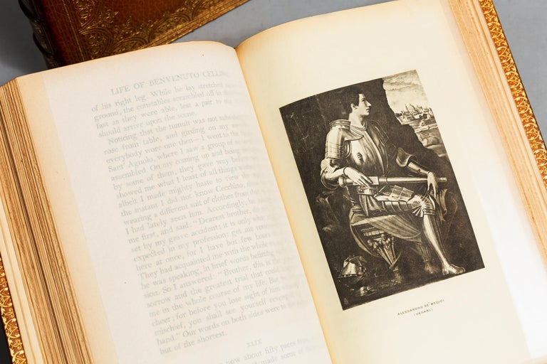 Benvenuto Cellini, The Life In Good Condition For Sale In New York, NY