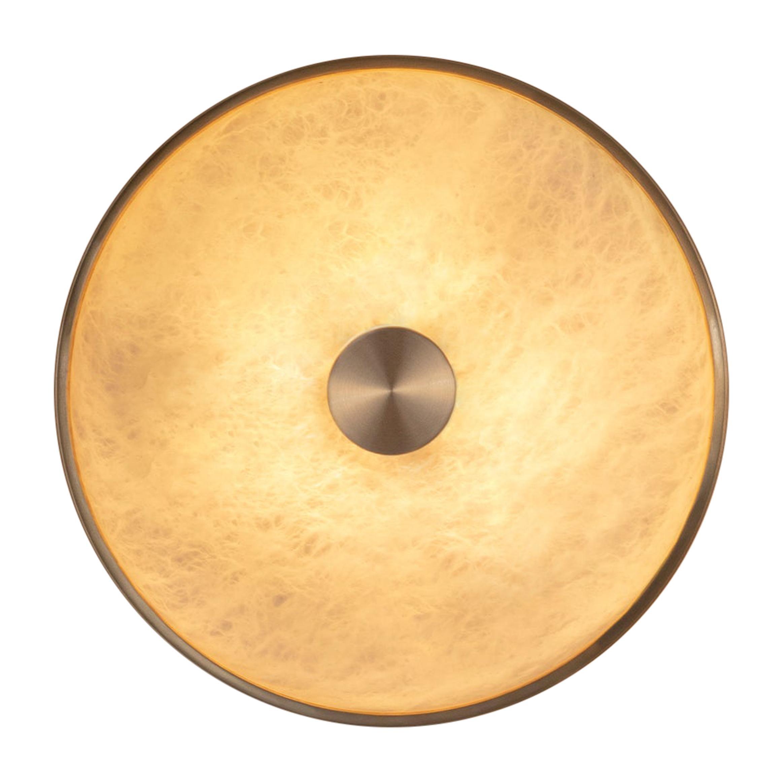 Beran Wall Light Large, Brass by Bert Frank