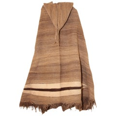 Berber Tribal North Africa Moroccan Burnous Wool Cape