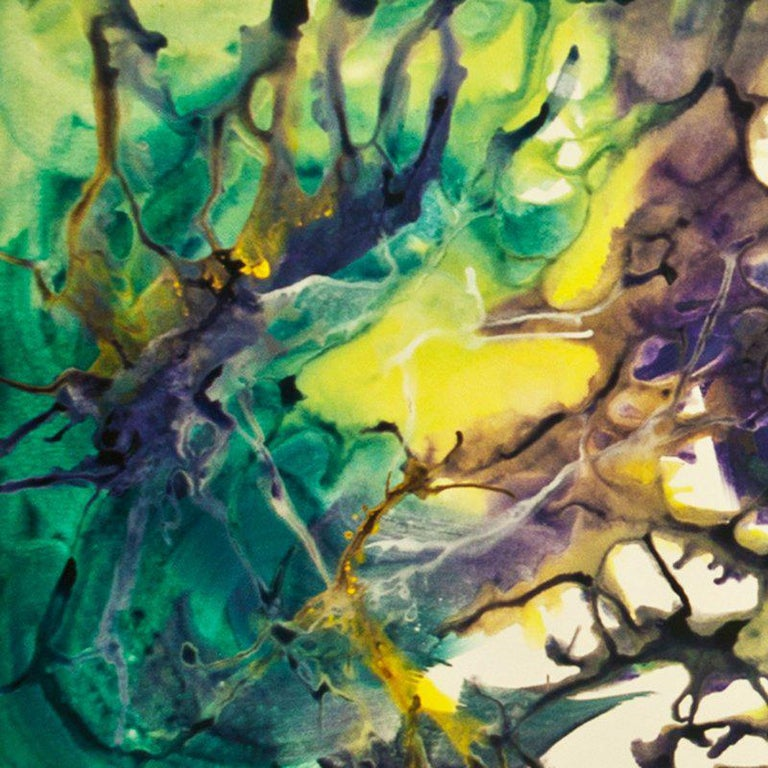 Breaking Boundaries - Abstract Mixed Media Art by Bereniche Aguiar