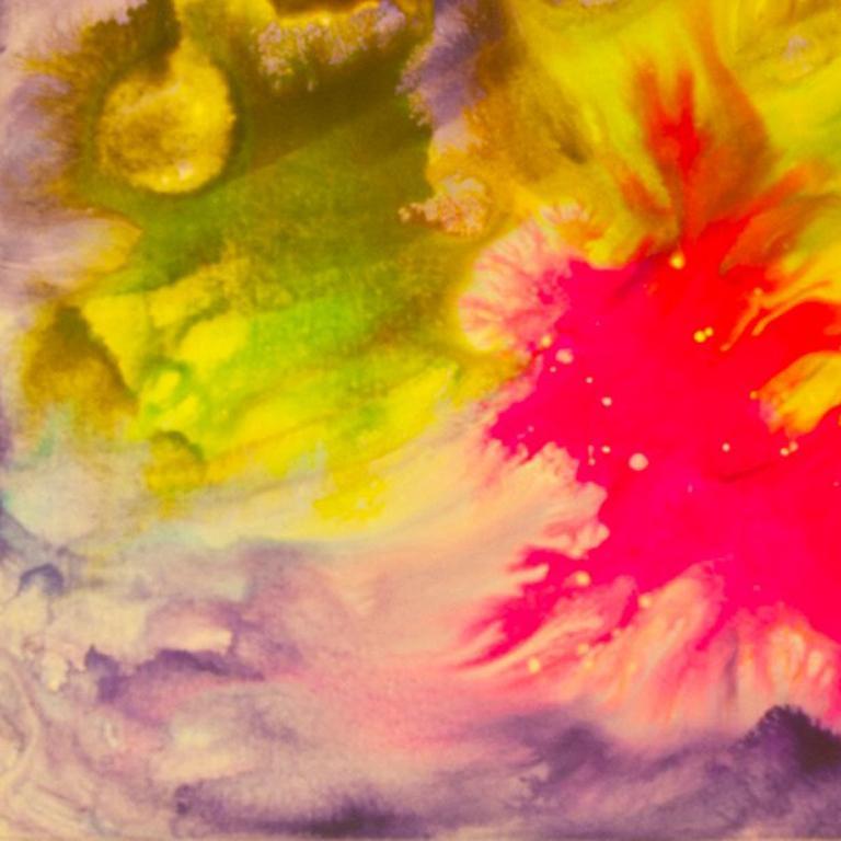 Spanish Dancer - Abstract Mixed Media Art by Bereniche Aguiar