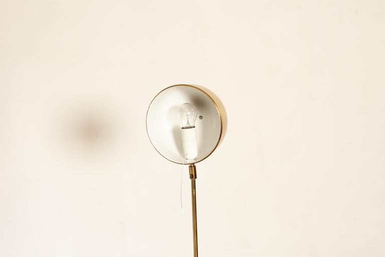 Bergboms Model G-075 Brass Floor Lamp, Sweden, 1960s 4