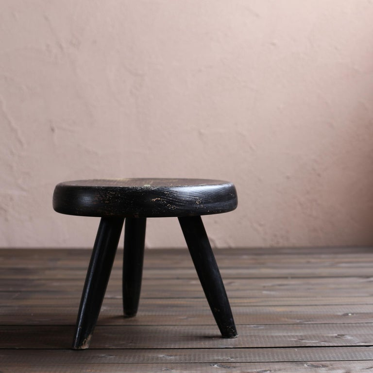 Berger Stool by Charlotte Perriand In Good Condition In Sammushi, JP