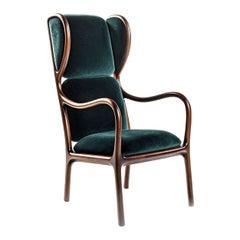 Bergère chair designed by Jaime Hayon for Ceccotti Collezioni