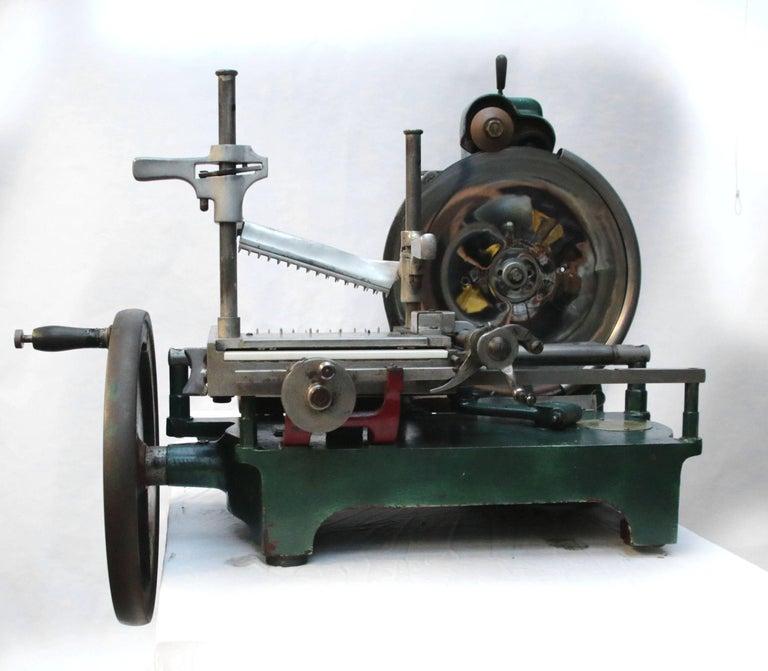 Berkel Model 5 Meat Slicing Machine 1922 1928 Military Wo