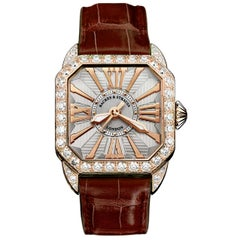 Berkeley 37 Luxury Diamond Watch for Women, Rose Gold, Backes and Strauss