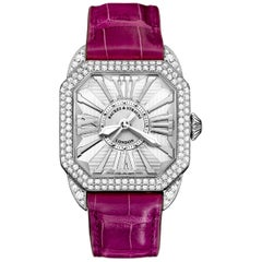 Berkeley 37 Luxury Diamond Watch for Women, White Gold, Backes & Strauss