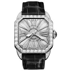 Berkeley 40 Luxury Diamond Watch for Men and Women, 18 Karat White Gold