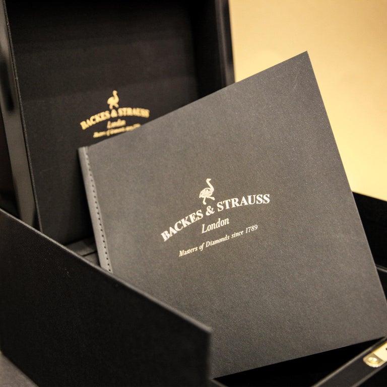 Men's Berkeley Renaissance 43 Luxury Diamond Watch for Men, 18 Karat Rose Gold For Sale