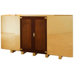 Berlage's Doors, Cabinet with Original Stamped Doors from Opus 14 Cabinet