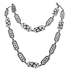 Berlin Iron Long Chain, circa 1810
