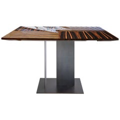 Berlino Square Table by Bosco Fair