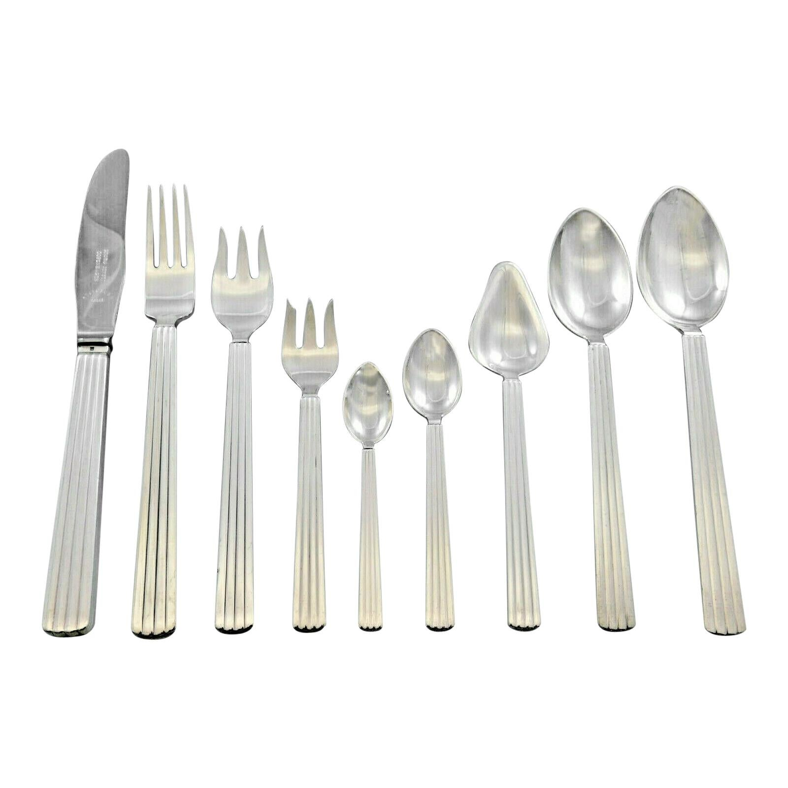 Silver Cutlery Sets - 274 For Sale on 1stdibs