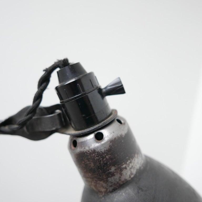Bernard-Albin Gras Table Lamp Model 205 'Black' 6