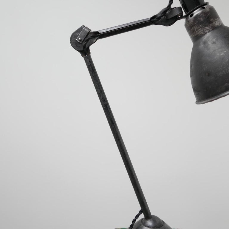 Bernard-Albin Gras Table Lamp Model 205 'Black' 2