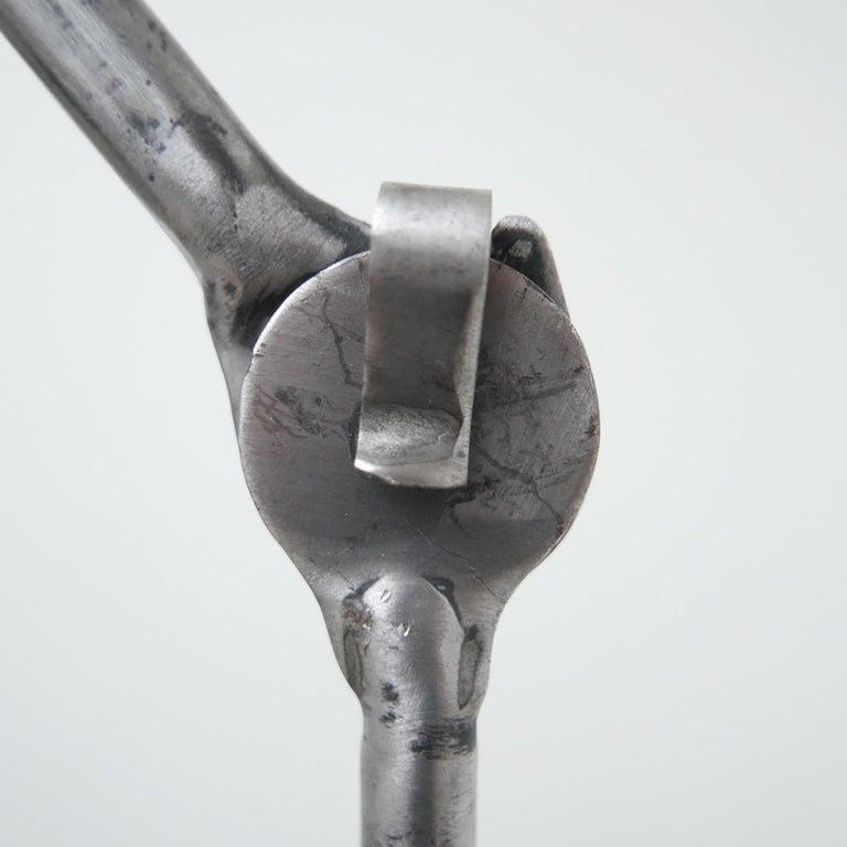 Bernard-Albin Gras Table Lamp Model 205 'Silver' 3