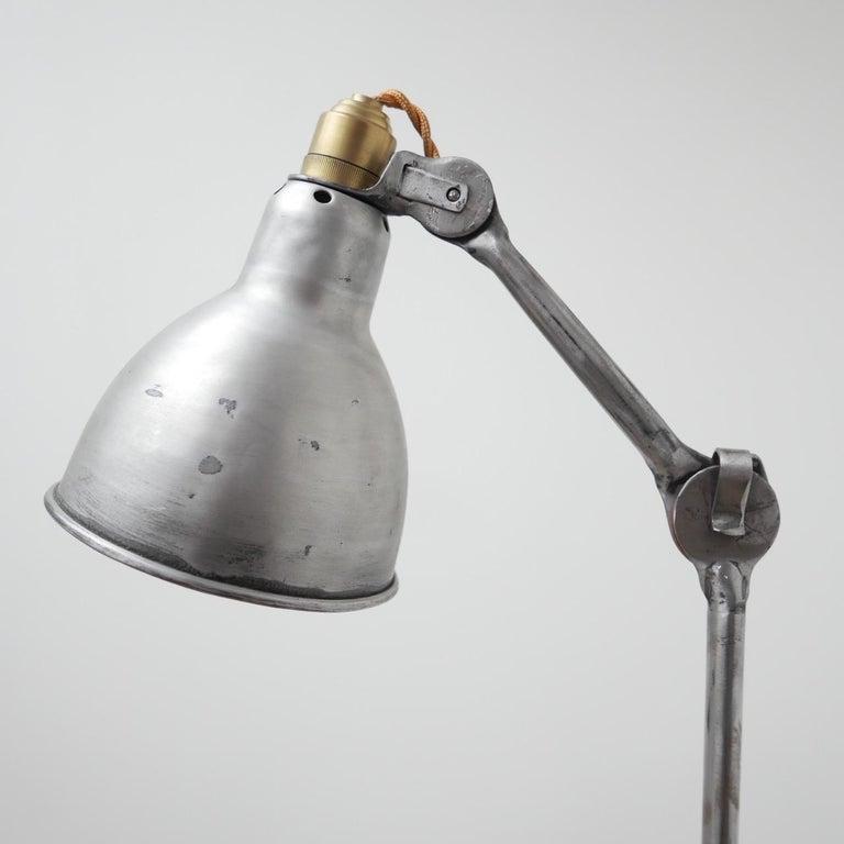 Bernard-Albin Gras Table Lamp Model 205 'Silver' 4