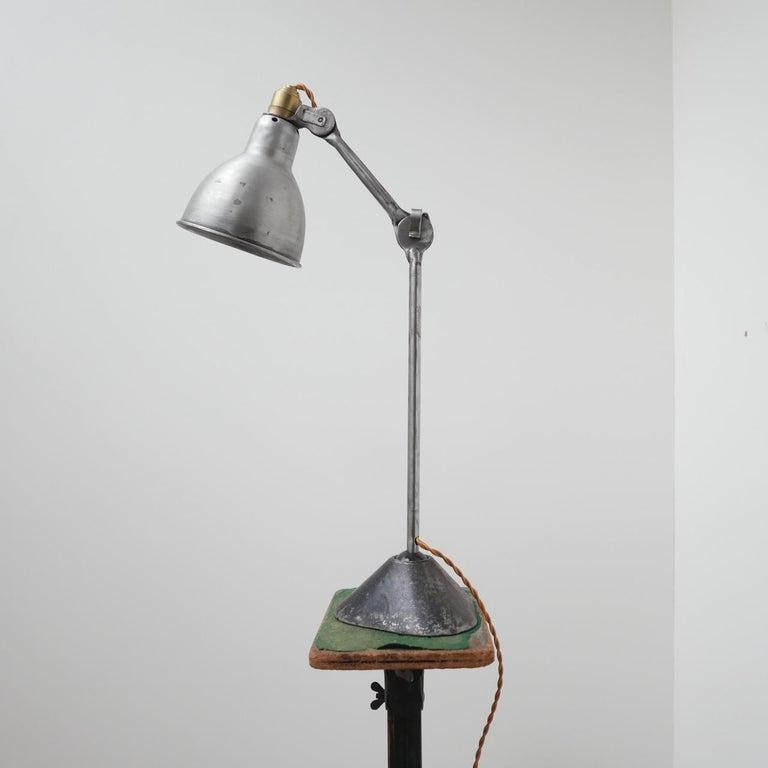 Bernard-Albin Gras Table Lamp Model 205 'Silver' 5