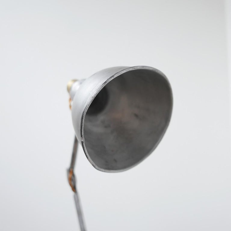 Mid-20th Century Bernard-Albin Gras Table Lamp Model 205 'Silver'