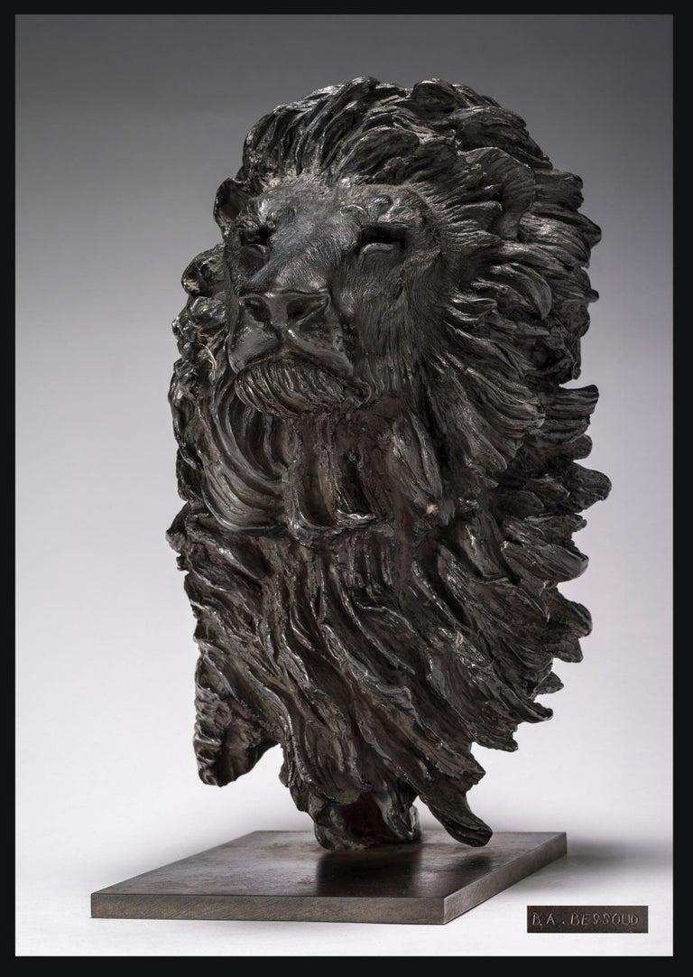 Bernard & Arnaud Bessoud  Figurative Sculpture - Lion Head