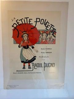 """""""La Petite Poucette"""" from Les Maitres de l'Affiche"""