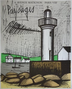 Britain : The Lighthouse - Lithograph - Mourlot 1983