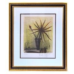 Bernard Buffet, Floral Still Life Lithograph, 37/50