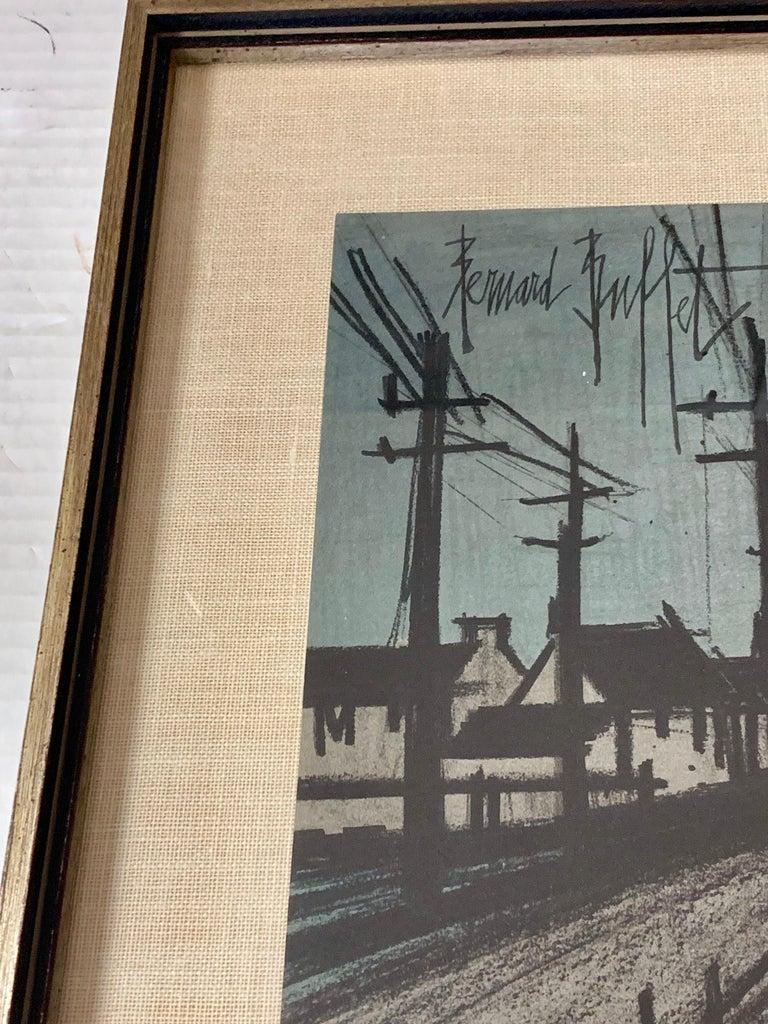 Bernard Buffet Original Lithograph 1st Printing Art For Sale 3