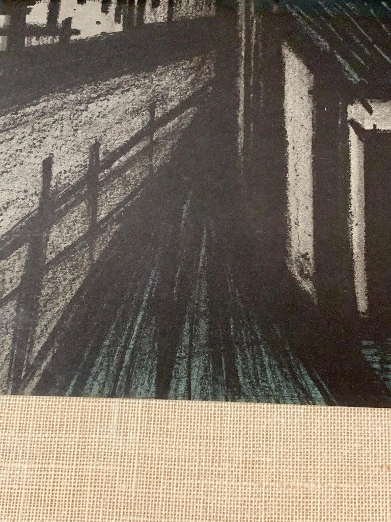 Bernard Buffet Original Lithograph 1st Printing Art For Sale 5