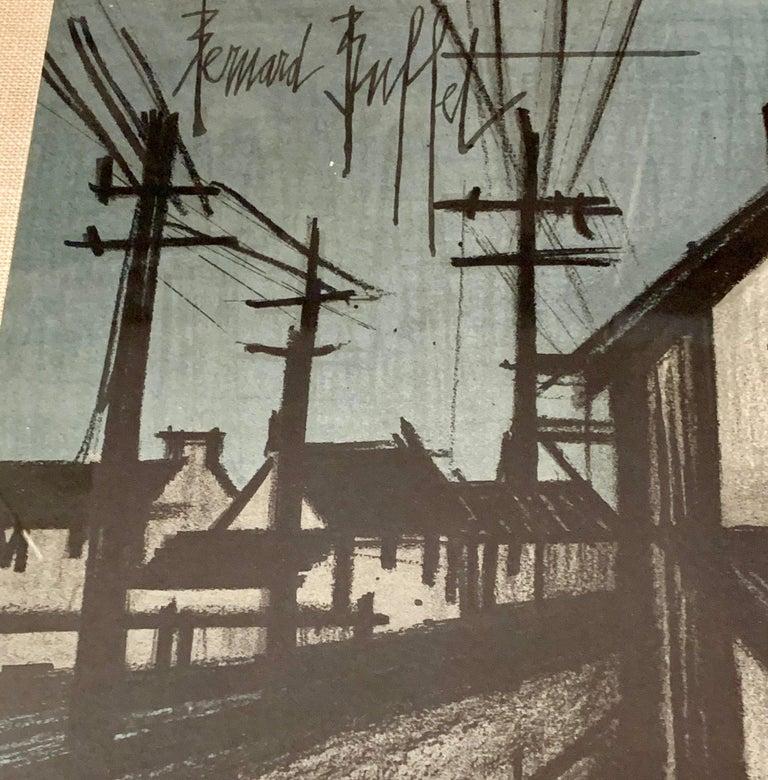 Bernard Buffet Original Lithograph 1st Printing Art For Sale 6