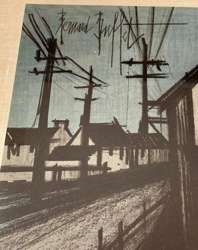 Bernard Buffet Original Lithograph 1st Printing Art For Sale 7