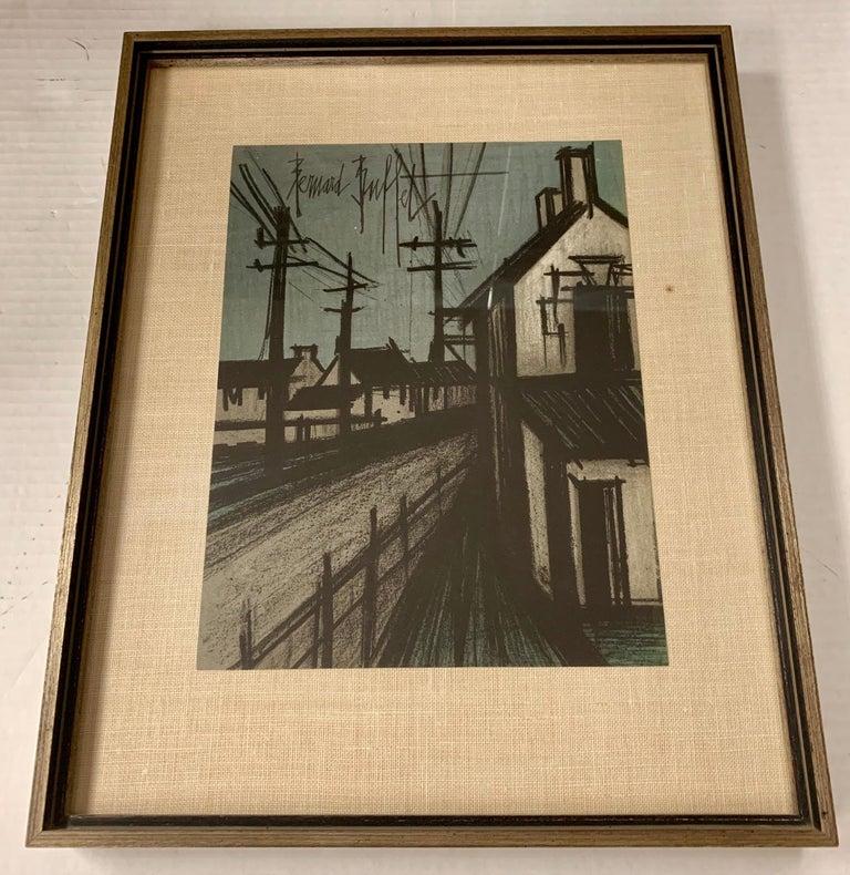 American Bernard Buffet Original Lithograph 1st Printing Art For Sale