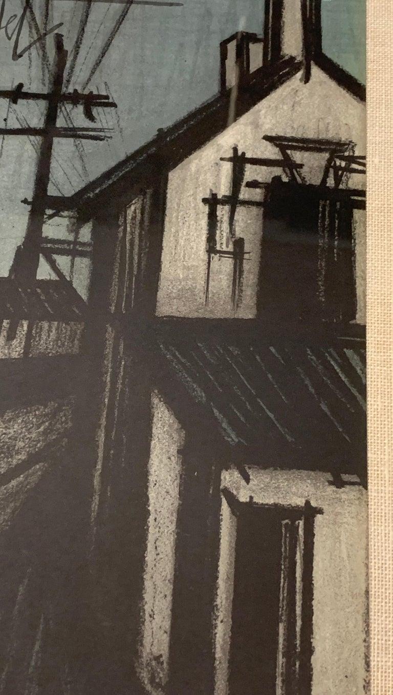 Wood Bernard Buffet Original Lithograph 1st Printing Art For Sale