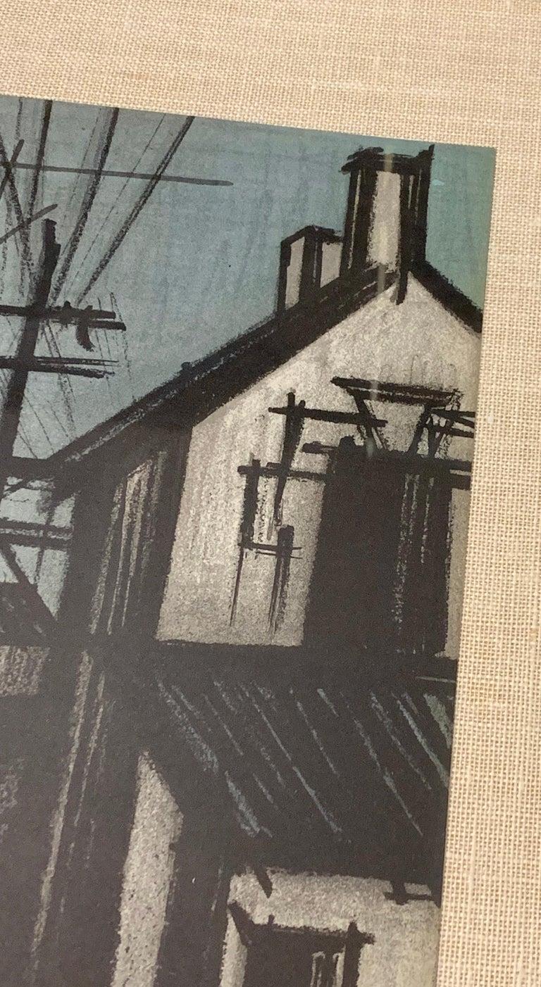 Bernard Buffet Original Lithograph 1st Printing Art For Sale 1
