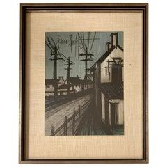 Bernard Buffet Original Lithograph 1st Printing Art